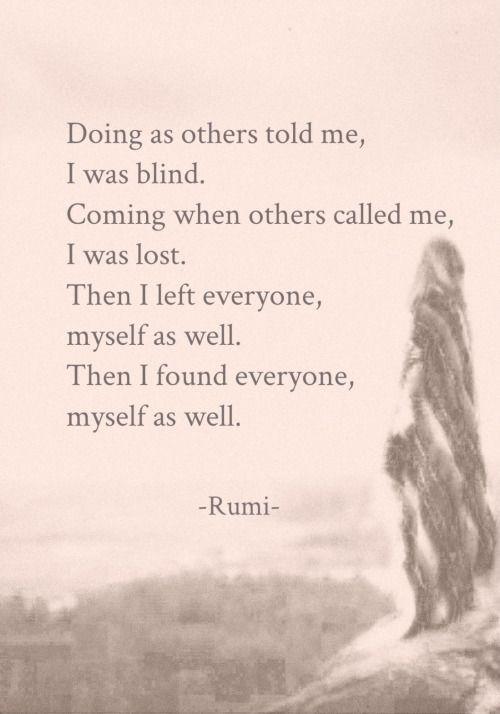 Draw & Wings. - Myself as well. (Rumi)