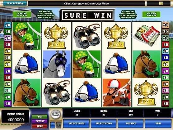 Sure Win – Free Slot Game  http://www.onlinecasinoguru.com/?p=47318