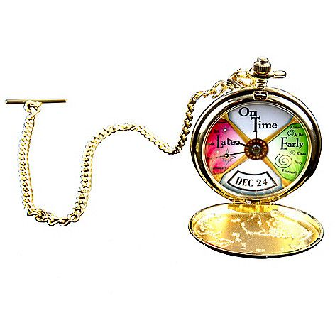 463-171 - Lionel Trains The Polar Express Conductor Pocket Watch
