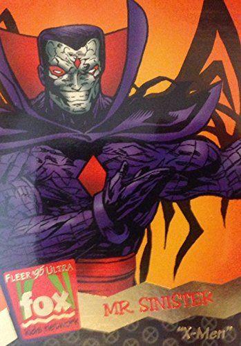 1995 Fleer Ultra Fox Kids Network X-Men #104 Mr Sinister @ niftywarehouse.com #NiftyWarehouse #Xmen #Marvel #X-Men #Comics #Geek #ComicBooks