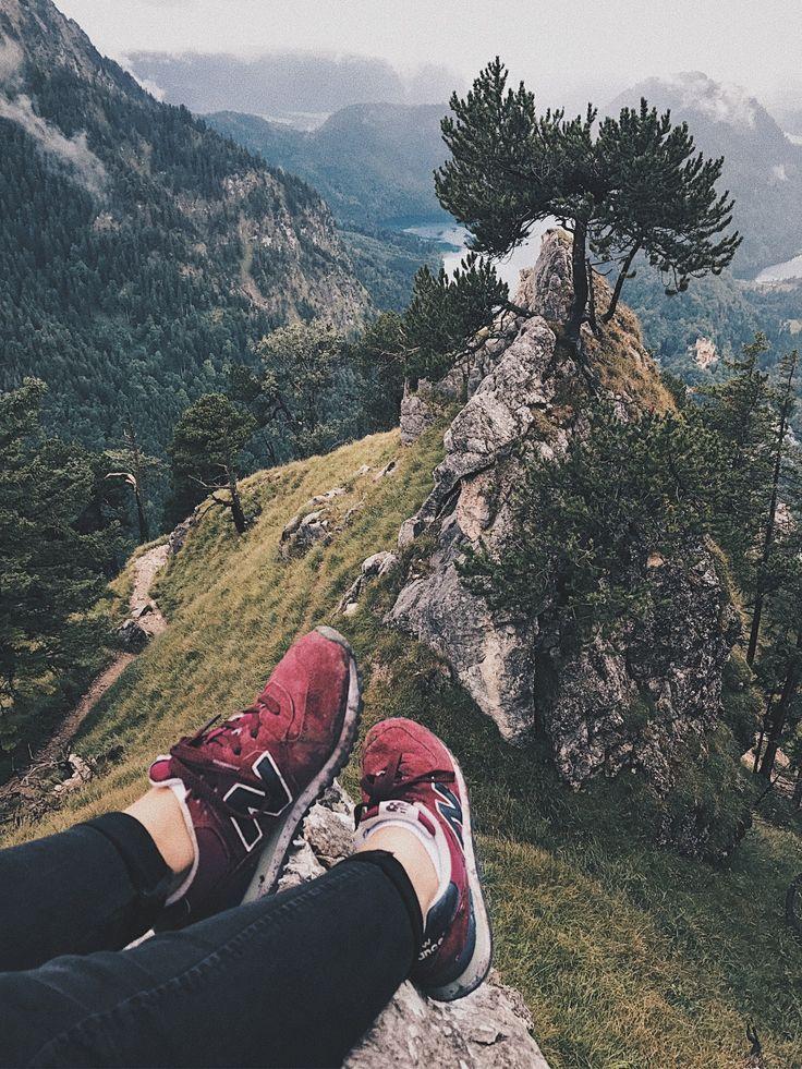 #mountains #newbalance #nature #trip #Alpes #road #coziness #tumbler