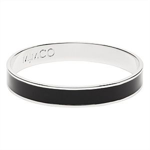 Black enamel bangle #mimcomuse Mimco