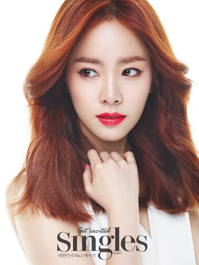 Han Ji Min   Singles' May 2015 Issue