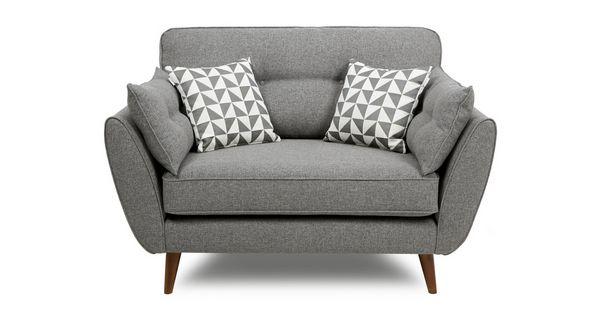 Zinc Cuddler Chair (DFS)