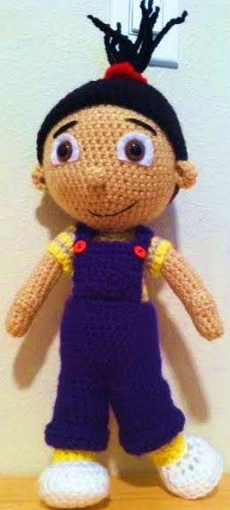 Connie's Spot© Crocheting, Crafting, Creating!: Free Crochet Agnes Inspired Doll Pattern©