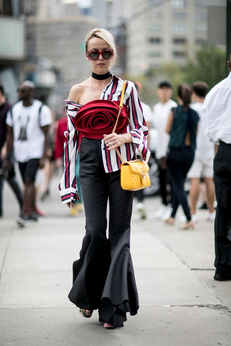 The NYFW Street Style Looks That'll Inspire Your Winter Wardrobe - New York Fashion Week Street Style SS17 from InStyle.com
