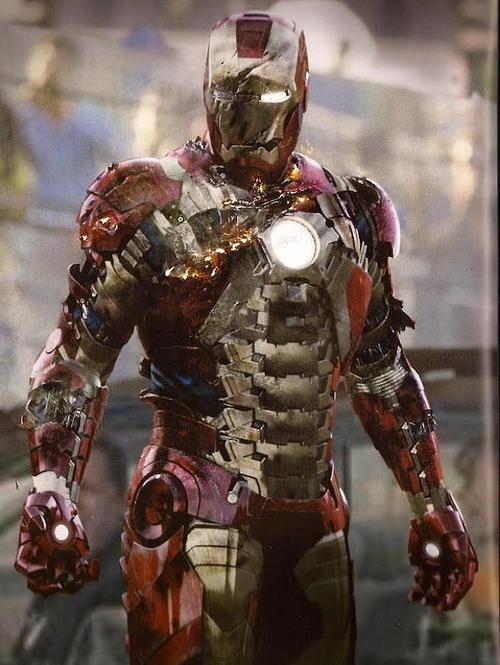 Mark V (a little the worse for wear...) | Iron Man ...  Mark V (a littl...