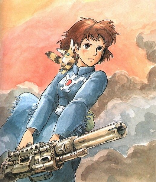 Nausicaa of the Valley of the Wind I have hair like hers now :)