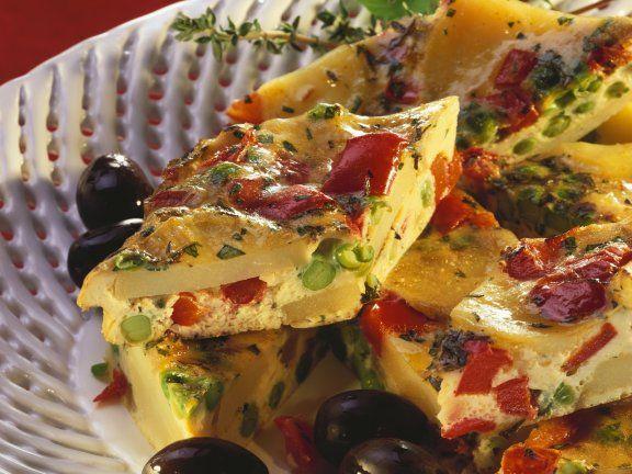 Spanische Tortilla mit Gemüse                                                                                                                                                      Mehr