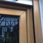 #Kunststofffenster sind am meisten verbreitet & verbinden hervorragende #Dämmeigenschaften mit hoher #Wirtschaftlichkeit - Viele #Farben und #Farbdekore lassen sich heute für Ihre neuen Fenster realisieren. Auf diesem Bild sehen Sie einen Ausschnitt des Fensters von außen in #bergkiefer genarbt. #Wärmeschutz #Fensterwiesbaden #schallschutzfensterwiesbaden #einbruchschutzwiesbaden #rc2wiesbaden #rc3 #KEINBRUCHWIESBADEN #Sicherheit #Einbruchschutz #Errichter #Sicherheitstechnik #Einbruch