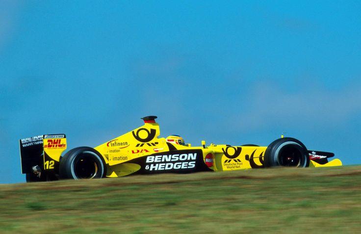 """sharonov: """"2001 Brazil Grand Prix Jordan EJ11 Jarno Trulli """""""
