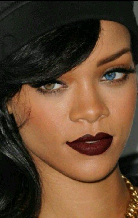 How to wear a super dark lip