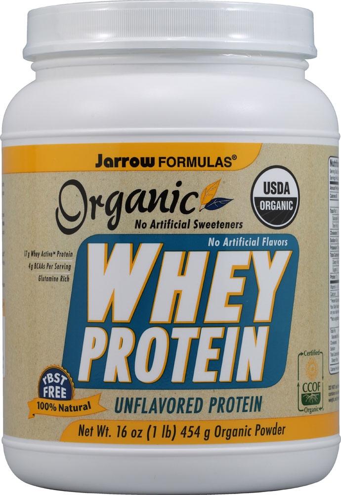 Jarrow Formulas Organic Whey Protein Unflavored #Vitacost