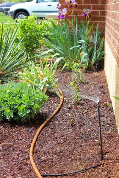 Elegant DIY Drip Irrigation System