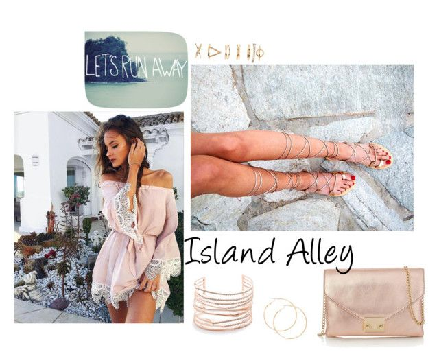 Island days by ccfashionstreet on Polyvore featuring polyvore fashion style Loeffler Randall Alexis Bittar Forever 21 Leah Flores clothing