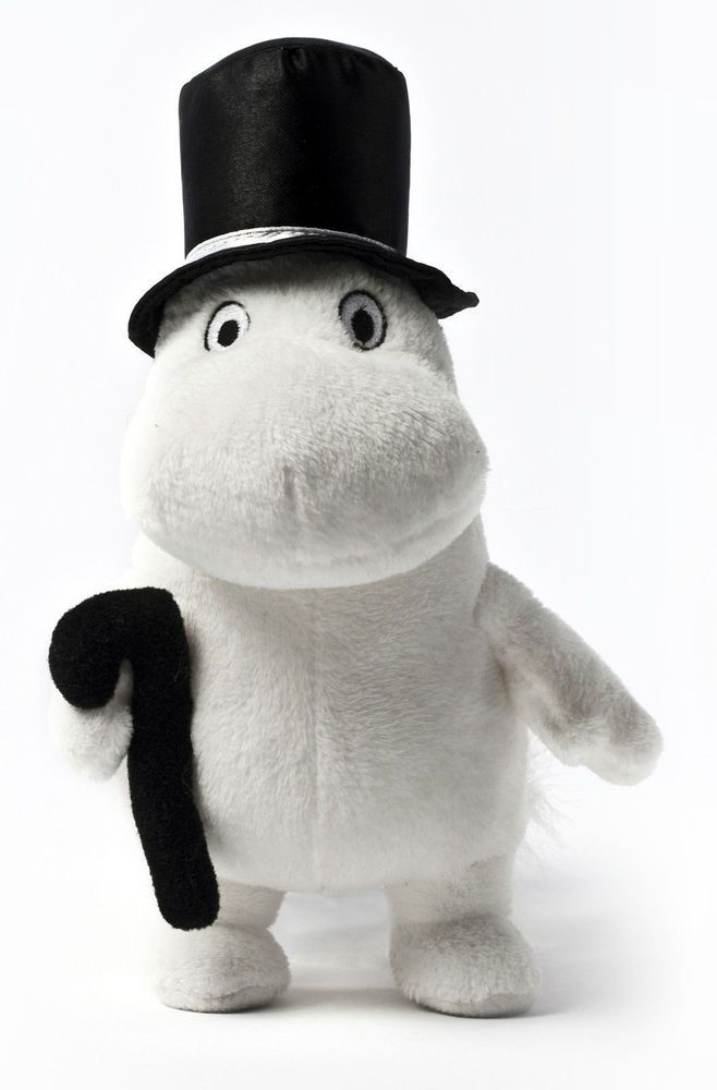 Aurora World Handmade Moomin Soft Toy 16 cm Moominpappa in Toys & Games, Soft Toys & Stuffed Animals, Branded Soft Toys | eBay