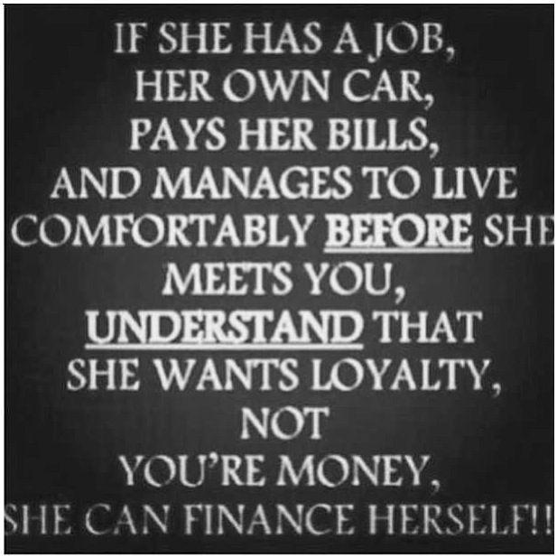 Dating online girl wants money