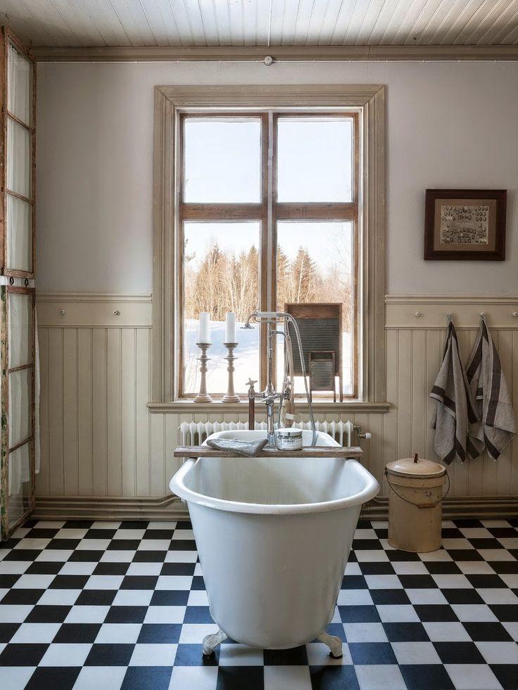 Reforma Baño Rustico:Vintage] Una reforma de baño en estilo vintage rústico