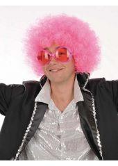 http://www.decodefete.com/4946-1-perruque-afro-rose.html Une perruque afro rose ! Existe aussi en plusieurs autres coloris. #perruque #deguisement