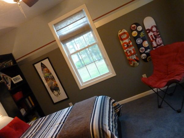 Cool Tween Bedroom   Boys  Room Designs   Decorating Ideas   HGTV Rate My  Space. 87 best Christian images on Pinterest   Paint stripes  Bedroom