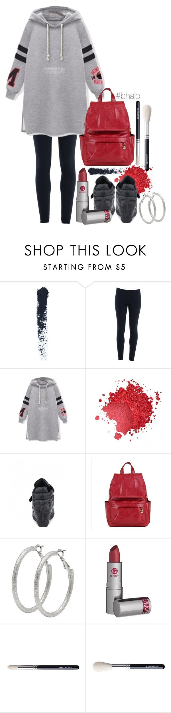 """Sport Hoodie and Leggings"" by itscindylou ❤ liked on Polyvore featuring moda, Too Faced Cosmetics, M&Co, Lipstick Queen y bhalo"