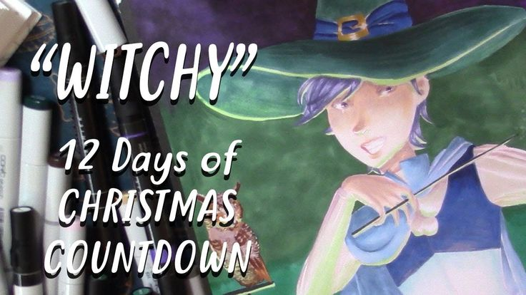 """12 Days of Christmas Countdown - """"Witchy"""" REDRAW 