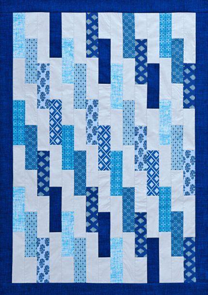 Free Strip Quilt Patterns Easy : 25+ best ideas about Strip quilt patterns on Pinterest Patchwork patterns, Easy quilt patterns ...