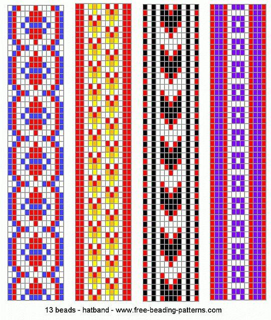 navajo bead designs. Brilliant Navajo Hatbandloombeadwork010 Beaded Bracelet PatternsBead  On Navajo Bead Designs