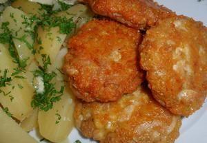 Báječné kuřecí placičky se sýrem Recepty.cz - On-line kuchařka