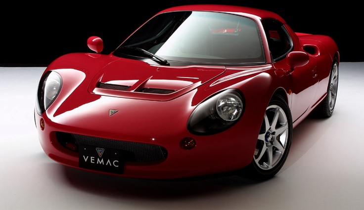 Obscure Japanese Sports Car Vemac RD200