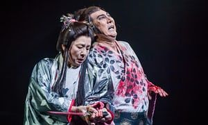 Macbeth review – Ninagawa's samurai Shakespeare is a weeping wonder | Stage | The Guardian