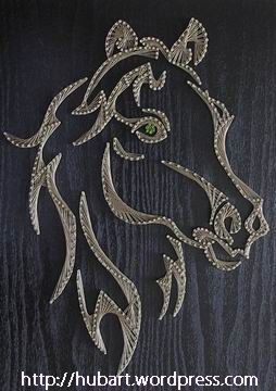 string art - Căutare Google -- make this a unicorn and it would be perfect!