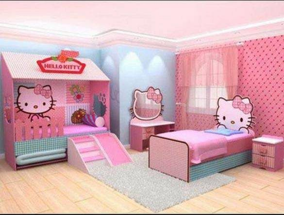 Kamar Set Hello Kitty STH 002