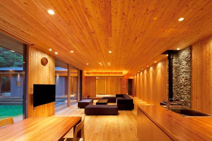 キッチン事例:LDK-3(RW山荘)