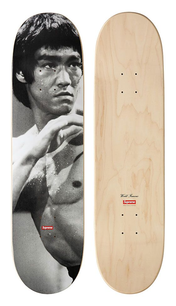 started as a skateboard driven brand, they stay true to their roots with frequent skateboard deck releases like this bruce lee collaboration