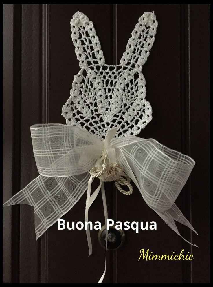 Pasqua coniglietto uncinetto per la festività pasquale