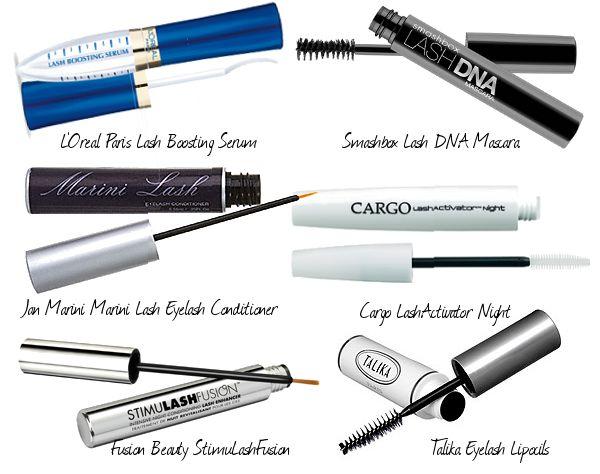 lash growth products, Cargo LashActivator Night, Lumigan, Latisse, Talika Eyelash Lipocils, Jan Marini Marini Lash Eyelash Conditioner, Smas...