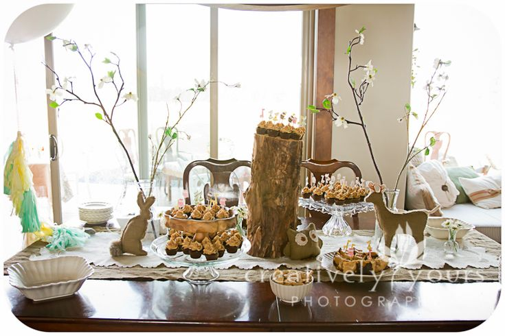 woodland themed baby shower - Google Search