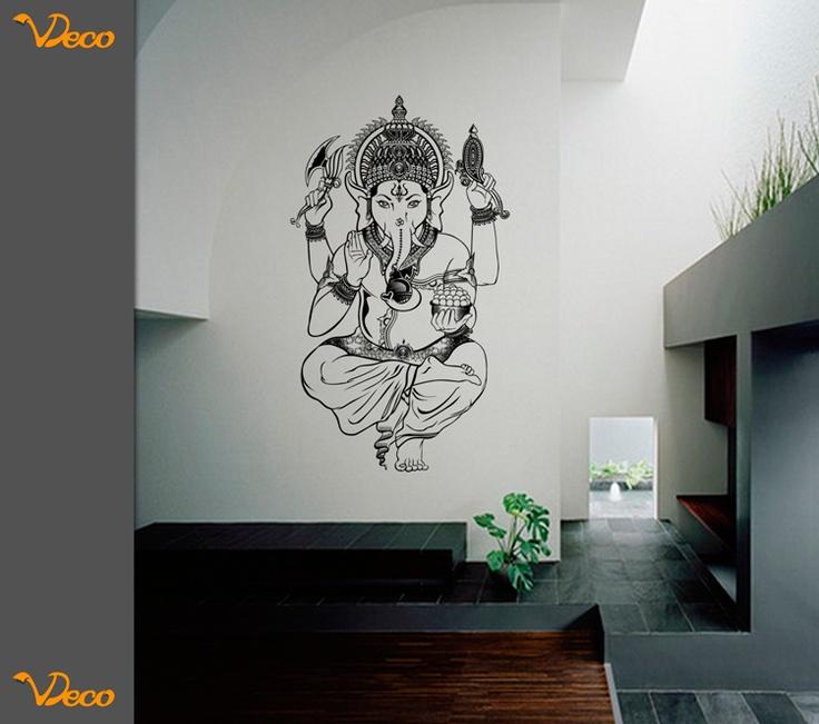 Ganesh. Para pared. Tamaño y color a elección. Vdeco.