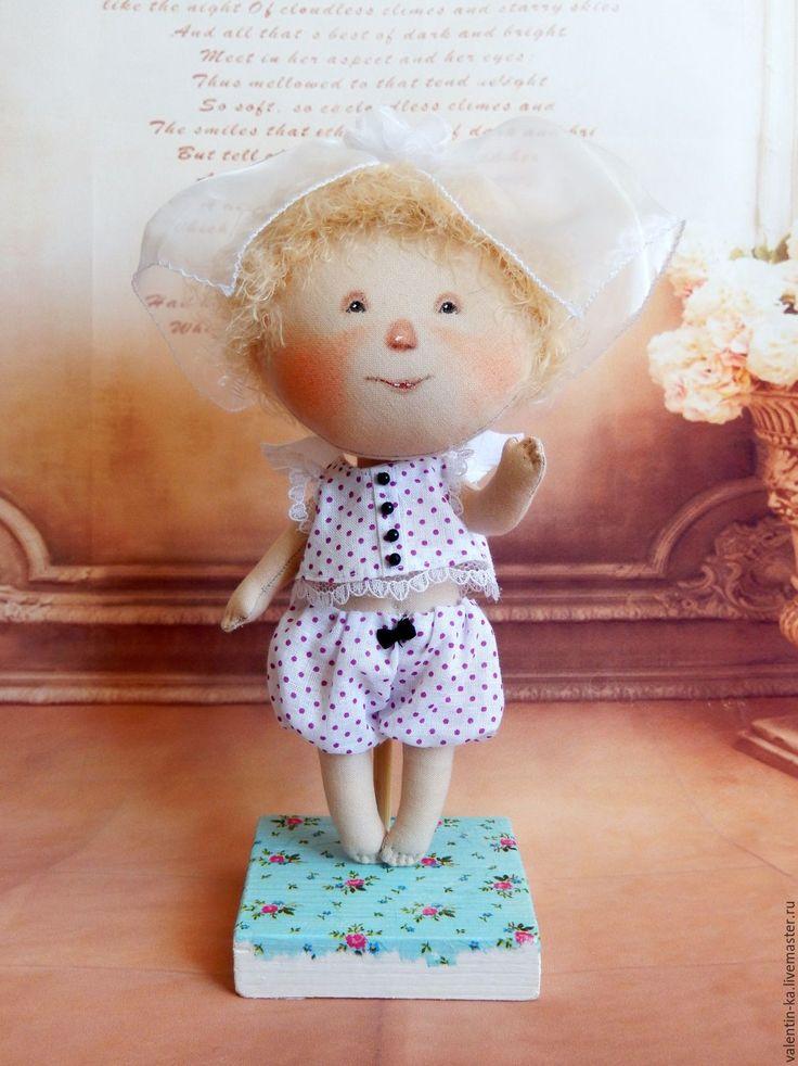 Купить Я ВЫРАСТУ, И МЫ ПОЖЕНИМСЯ! Кукла по картине Е.Гапчинской - комбинированный