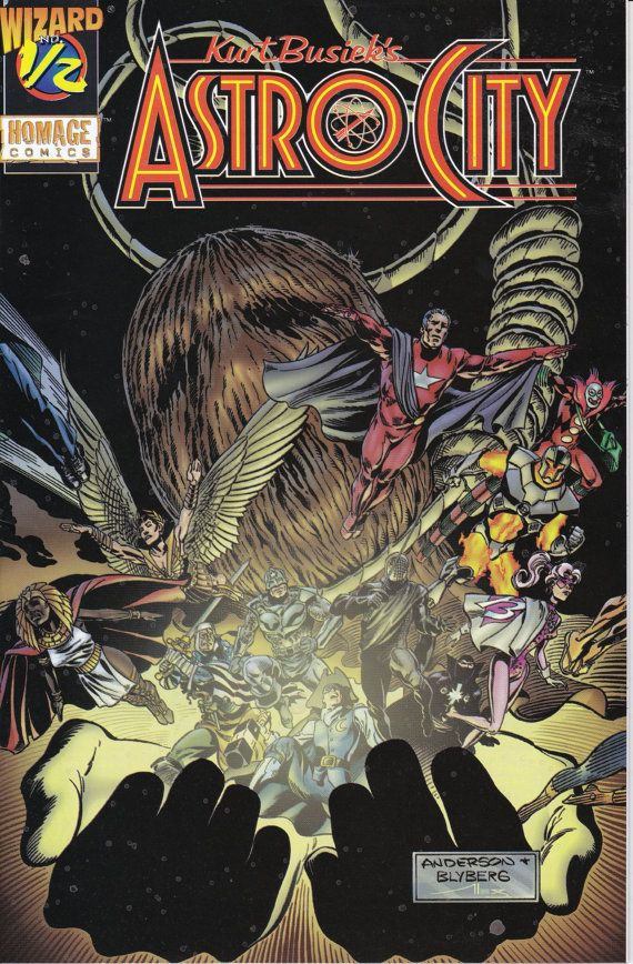Astro City 1/2 Homage Comics / Wizard Comics  Mail by ViewObscura