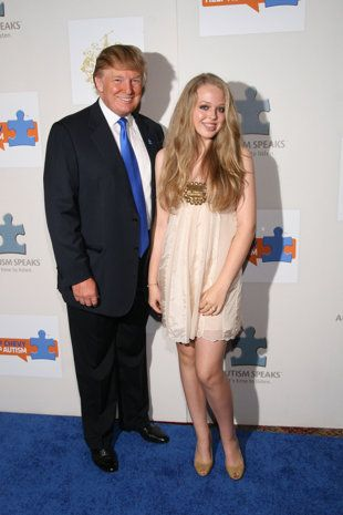 Donald Trump and daughter Tiffany Trump