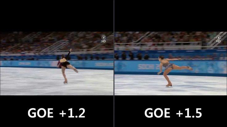 Sochi Scandal Adelina Sotnikova vs Yuna Kim Triple Flip Comparison