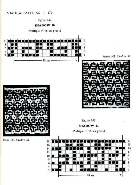 Mosaic Knitting Barbara G. Walker (Lenivii gakkard) Mosaic Knitting Barbara G. Walker (Lenivii gakkard) #184