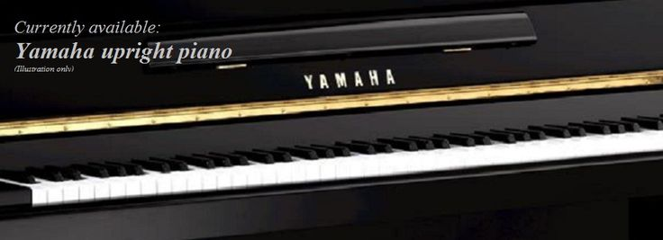 Yamaha piano black