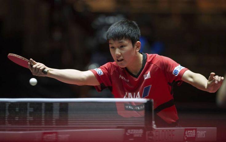 Harimoto stuns Mizutani at table tennis worlds | The Japan Times