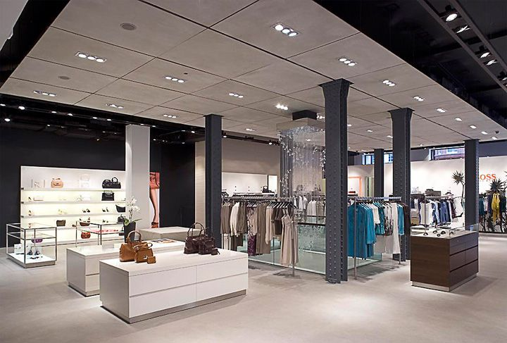 Hugo Boss flagship store Lewis and Hickey London