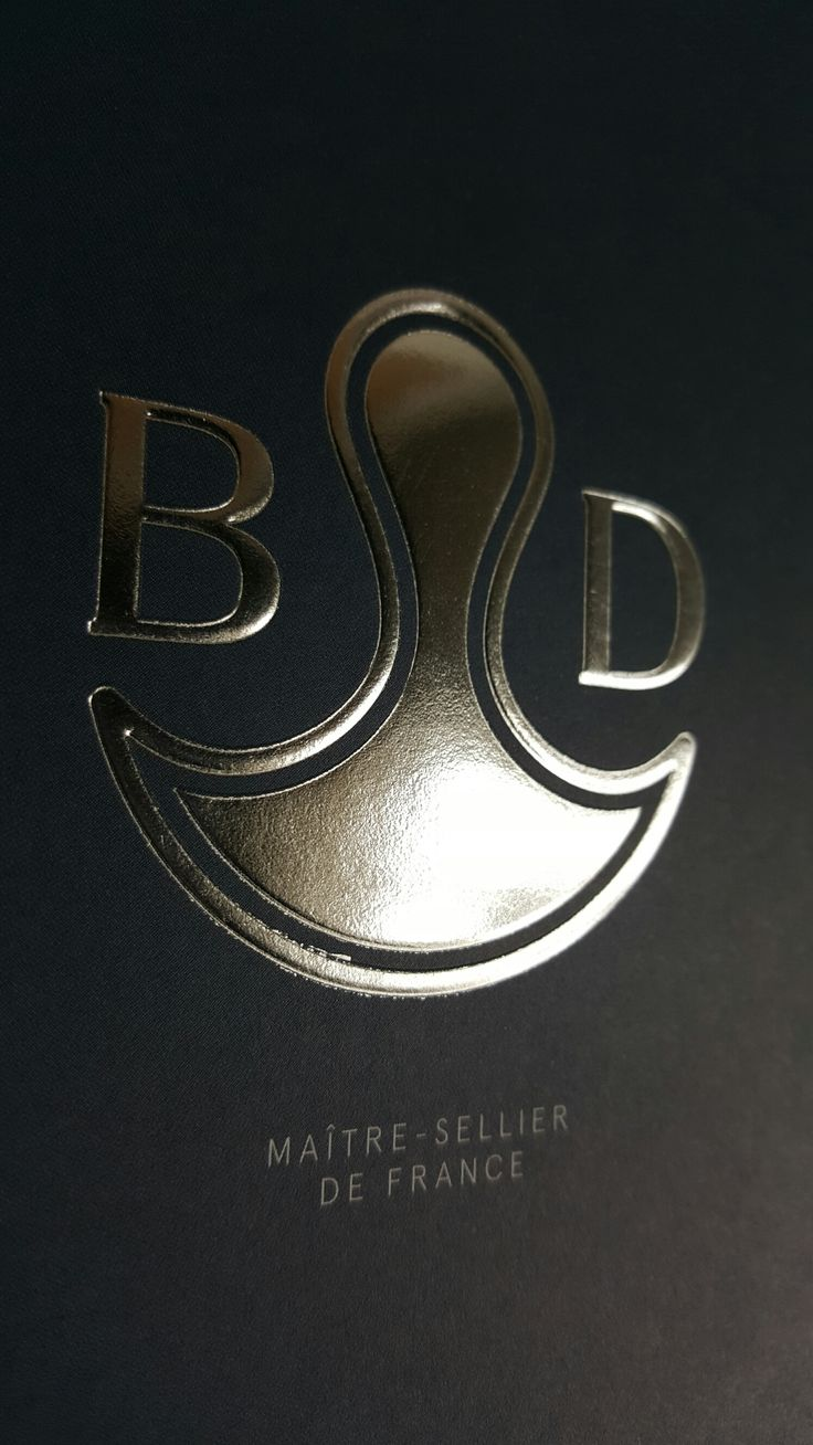 Bruno Delgrange - Maître sellier de France  Impression à chaud + gaufrage
