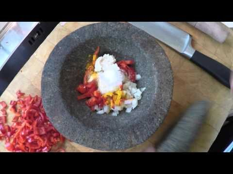 Rendang Padang: easy to make but you need some time. Watch this 4 minutes clip and learn how to. ;-)