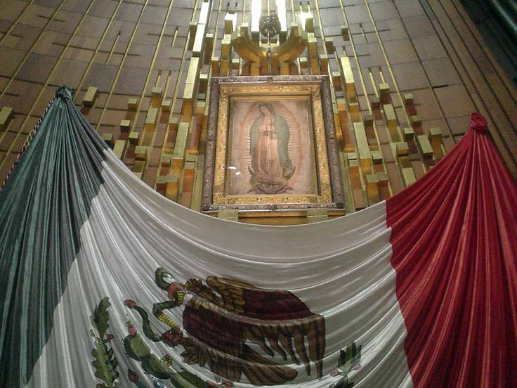 Ir a La Basilica de Guadalupe el dia de la virgen. This is the day if the Virgen De Guadalupe in Mexico. We sing happy birthday to her at 12 am.